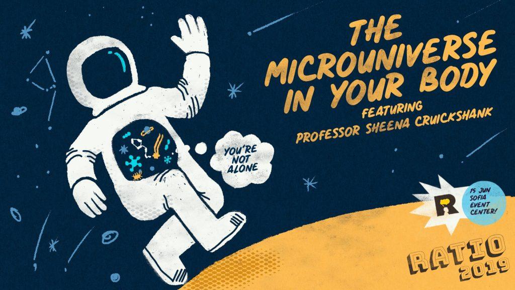 На 15 юни Ratio и световни лектори ще ни разходят от Космоса до микровселената в човешкото тяло