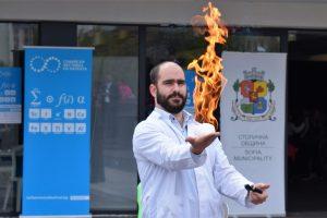 Зрелищно започна деветия Софийски фестивал на науката в София Тех Парк (снимки)