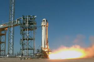 Blue Origin направи ново успешно изстрелване и приземяване на ракетата New Shepard (видео)