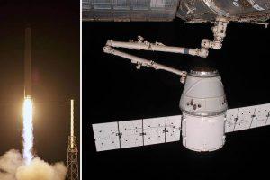 7 години от първата успешна карго доставка на SpaceX до Международната космическа станция