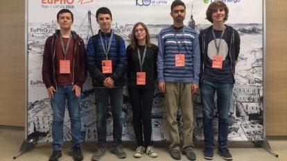 Български ученици се състезават на Европейската олимпиада по физика в Латвия