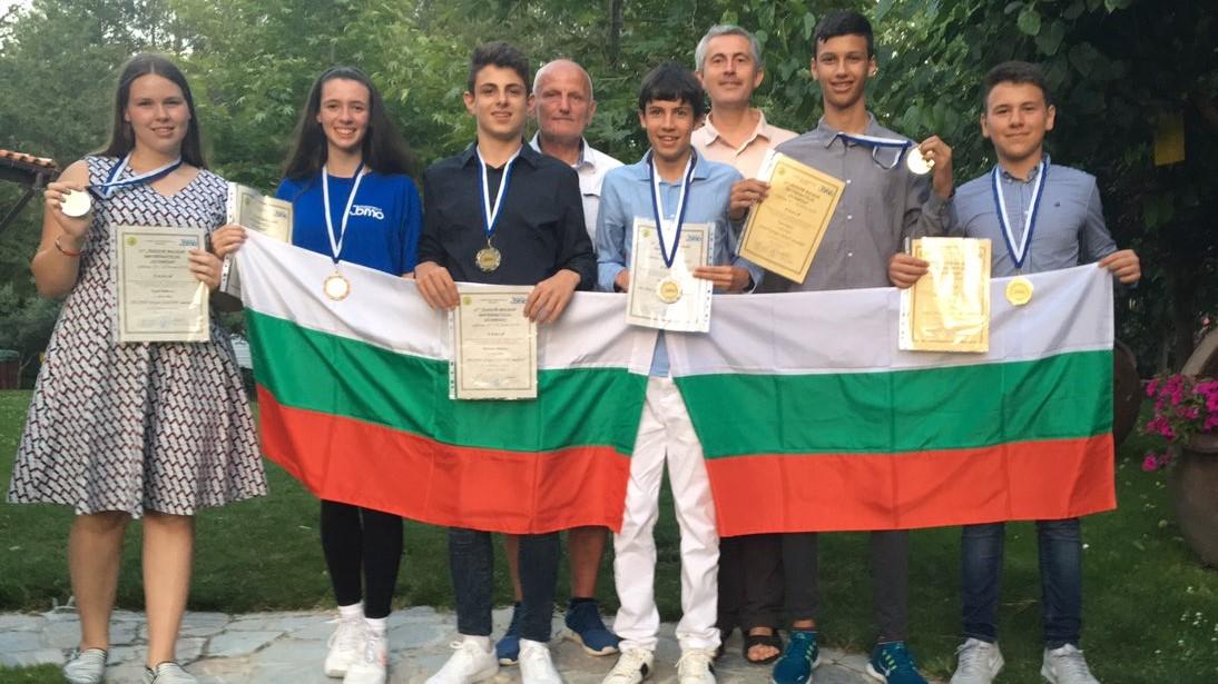Страхотно представяне и шест медала за българските младежи от Балканска олимпиада по математика