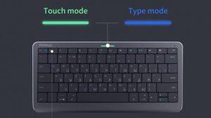 Вижте първата в света Click&Touch клавиатура, която има тъчпад върху всички бутони (видео)