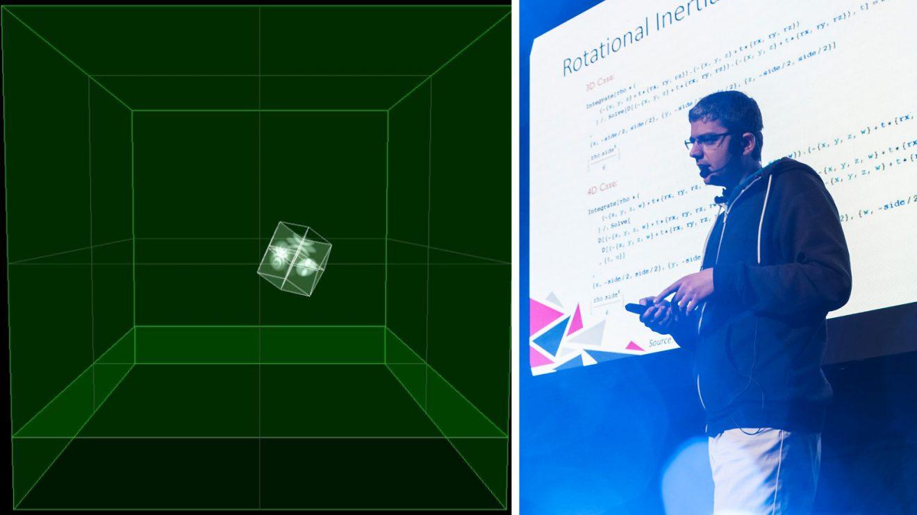 Български екип на компанията Gameloft разработи първата функционална симулация на 4D зарче