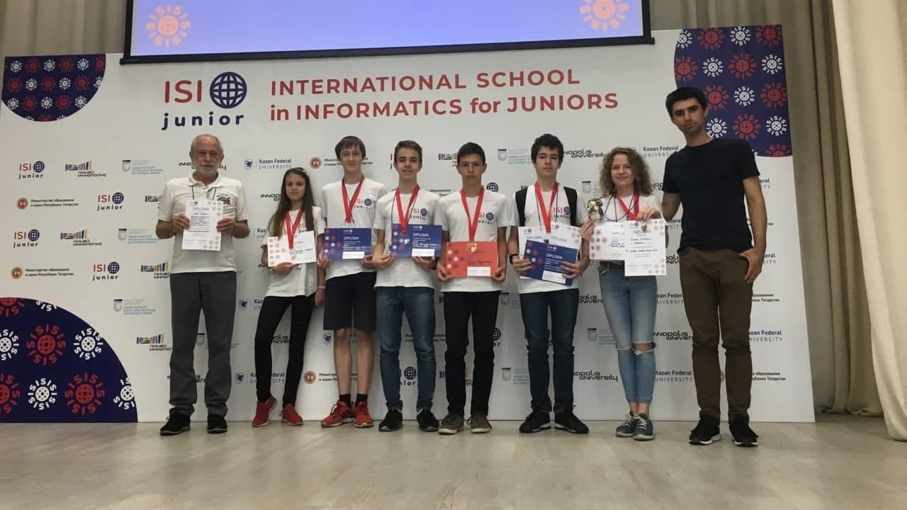 Български младежи спечелиха 6 медала от Международната школа по информатика за младежи - ISI Junior