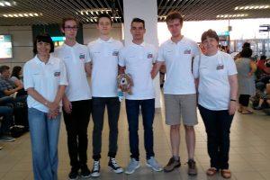 Най-добрите български гимназисти по химия участват на Международната олимпиада в Париж
