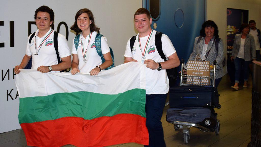 С 4 медала за България се прибраха биолозите ни от Международната олимпиада в Унгария