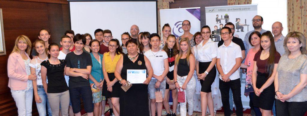 Samsung България проведе академия за млади таланти Growing Talents с ученици от цялата