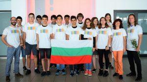 Усмихнато завръщане за бронзовите ни медалисти от Международния турнир на младите естествоизпитатели