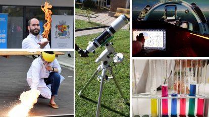 Тази събота на Science Bricks ще има зрелищни демонстрации и експерименти, наблюдение с телескоп и симулатор на самолет