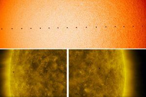 Вижте страхотните видеа на НАСА от астрономическото явление – пасаж на Меркурий (видео и снимки)