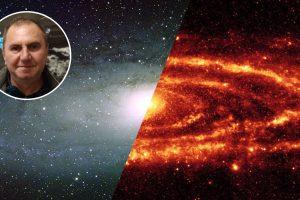 На 28 ноември в Кръжока по астрономия ще разберем как се търсят квазари зад галактиката Андромеда