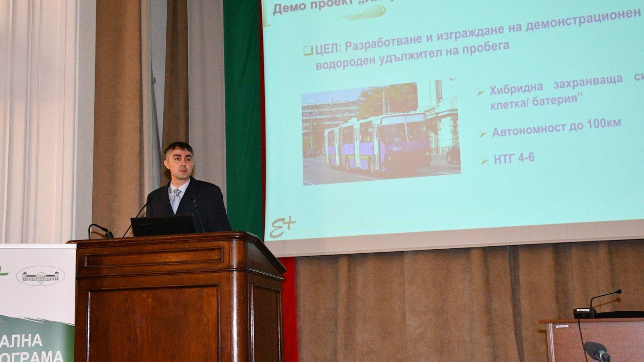Български учени разработват хибриден тролей с пробег до 100 км на водород
