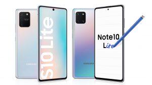Samsung пуска Lite версии на най-добрите си Galaxy смартфони - Galaxy S10 Lite и Galaxy Note10 Lite