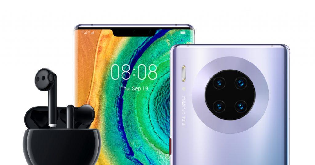 Huawei пуска в България 100 боря Mate 30 Pro на цена от 1999 лева