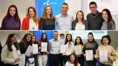 MDV Professional Education награди млади професионалисти и ученици завършили Училище по финанси и счетоводство