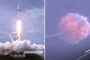 Успешен зрелищен тест за космически кораб Crew Dragon, който скоро ще превозва хора до МКС (видео)