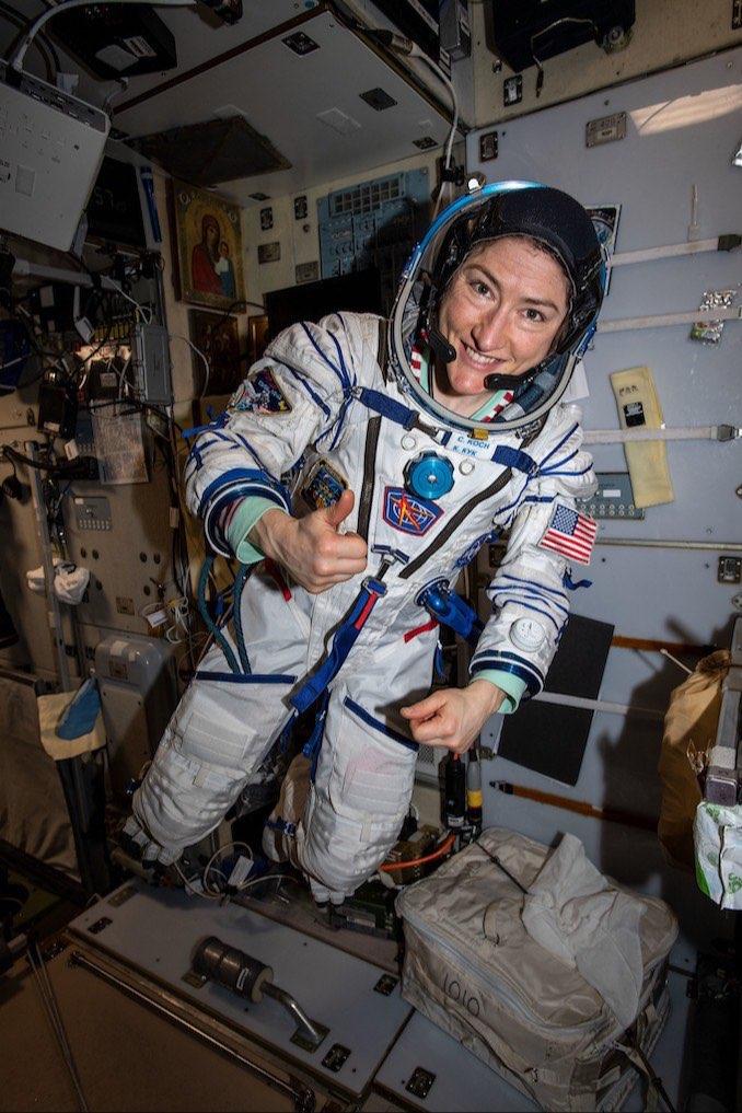 Кристина Кох постави нов рекорд за продължителен престой на жена в Космоса – 328 дни
