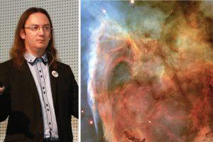 На 13 февруари в Кръжока по астрономия Никола Каравасилев ще ни разкаже за цветовете в Космоса