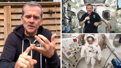 Кратък наръчник при самоизолация от бившия командир на МКС Крис Хадфийлд (видео)