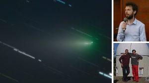 Снимка на кометата ATLAS (C/2019 Y4), направена от български астрономи, стана снимка на деня на НАСА