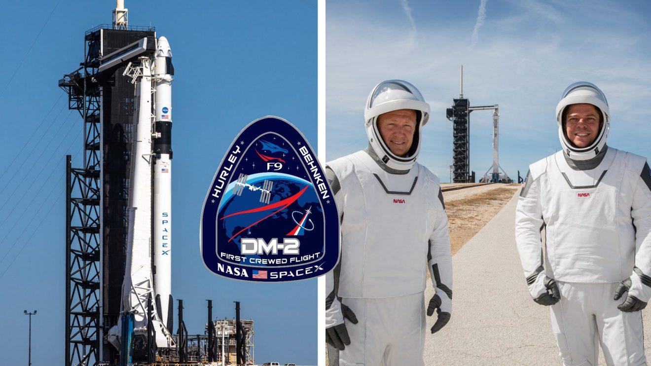 На 27 май SpaceX ще пише история, като изстреля астронавти към МКС с кораба Crew Dragon (видео)