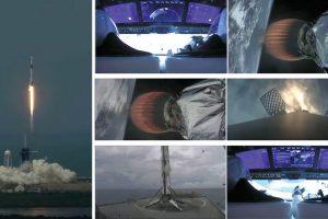 Исторически успех! SpaceX изстреля астронавти с космическия кораб Crew Dragon (видео)