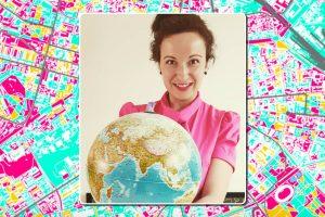 Географът д-р Евгения Сарафова организира обучения по дигитална география, ГИС и дистанционни изследвания на Земята