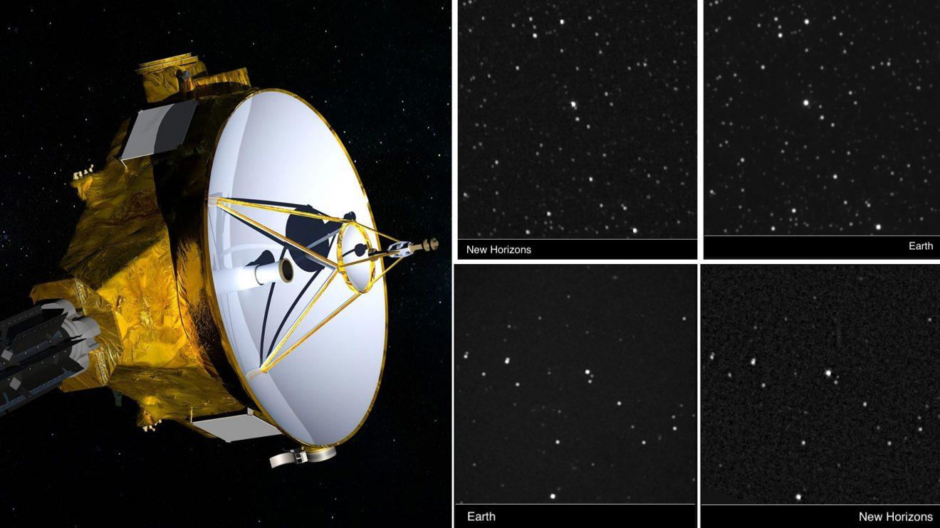 """За първи път човечеството засне """"чуждо небе"""" с космическата сонда New Horizons"""
