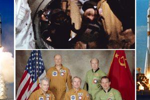 45 години от първото скачване в орбита на космически кораби от САЩ и СССР (видео и снимки)
