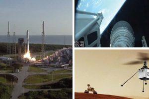 НАСА успешно изстреля марсохода Perseverance, който ще пусне хеликоптер на Марс (видео)