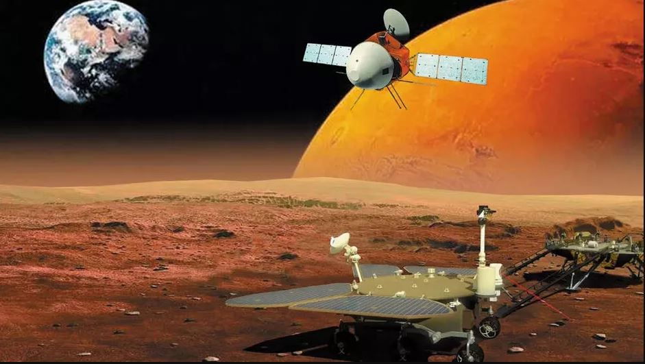 Китай успешно изстреля марсоход и орбитален апарат към Марс (видео)