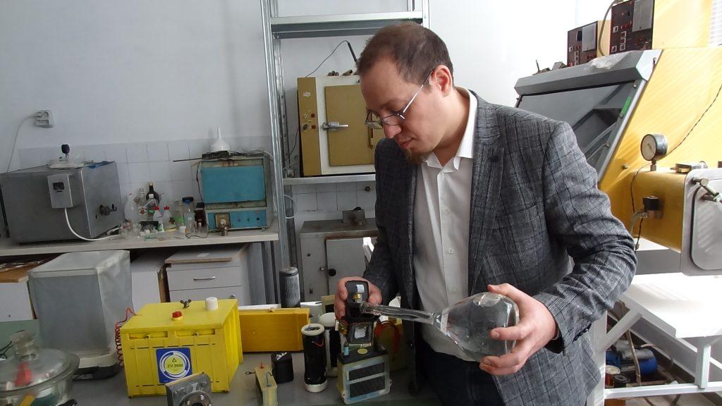 """Д-р Илиян Попов, """"Предприемач в науката"""":"""