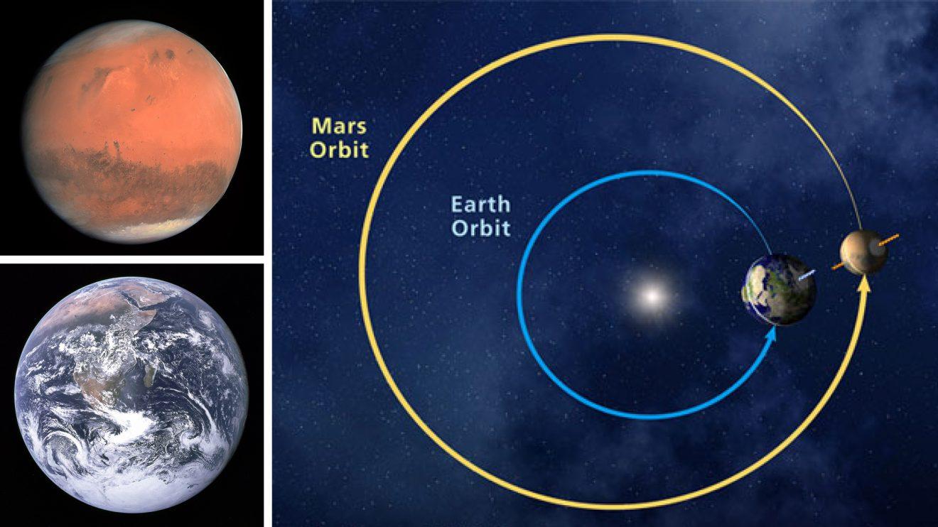 Не, Марс не лети към Земята! Двете планети ще се сближат на 62 млн. км разстояние през октомври