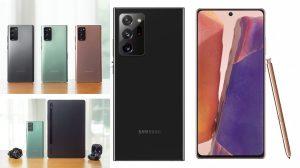 Samsung представи новите си бизнес устройва. Galaxy Note20 Ultra идва на цена от 2549 лв. на 21 август (видео)