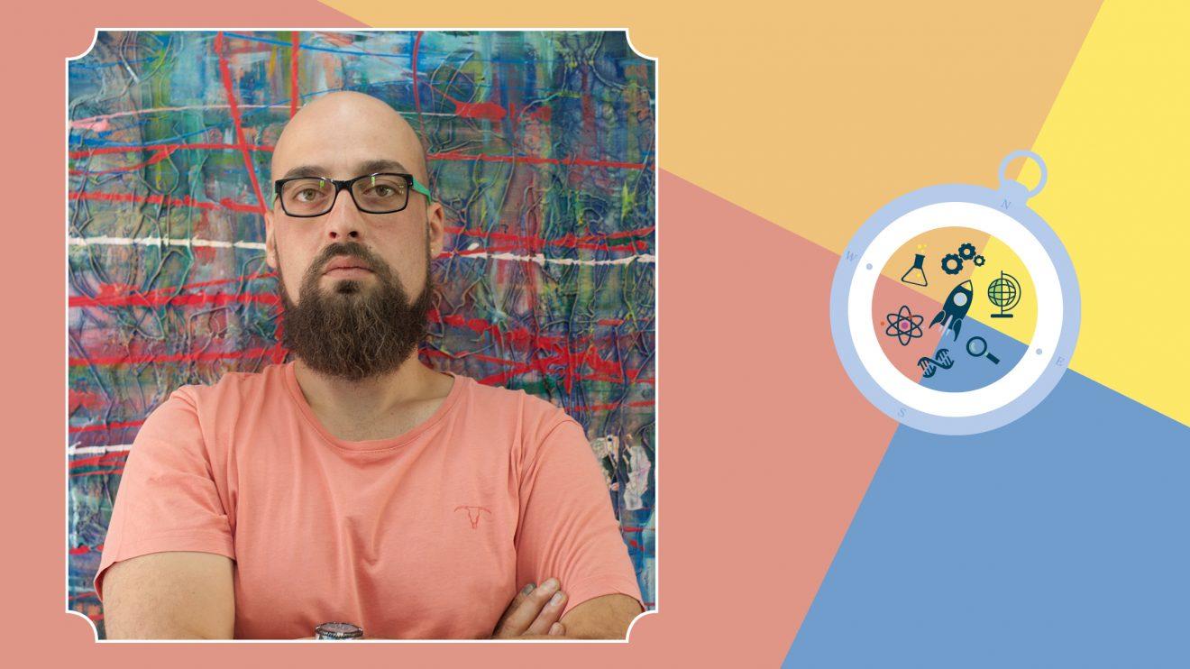 Izzi Science for Kids представя своя учител по керамика и изкуство Марио Ангелов