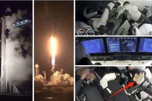 SpaceX изстреля успешно 4-ма астронавти до МКС с първата си оперативна мисия с екипаж (видео)