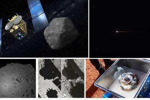 Японската мисия Hayabusa2 успешно се завърна на Земята с проби от астероида Ryugu (видео)