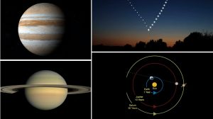 На 21 декември ще наблюдаваме рекордно рядко сближаване на Юпитер и Сатурн (видео)