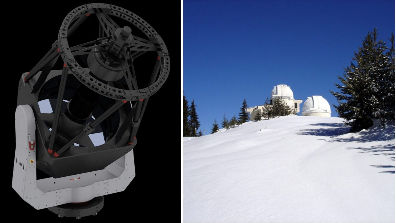 НАО Рожен ще има нов роботизиран телескоп и нова наблюдателна кула с купол