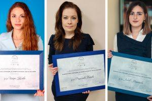 """Д-р Искра Колева, д-р Радослава Бекова и Любов Георгиева са отличени с наградата """"За жените в науката"""" на L'Oréal и ЮНЕСКО"""