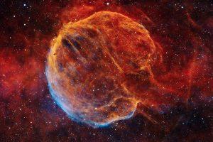 Мъглявината Мозък - останки от свръхнова (Астрономическа снимка на деня – APOD)