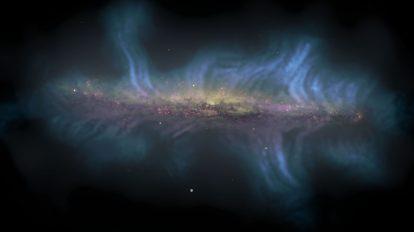 Вертикалното магнитно поле на NGC 5775