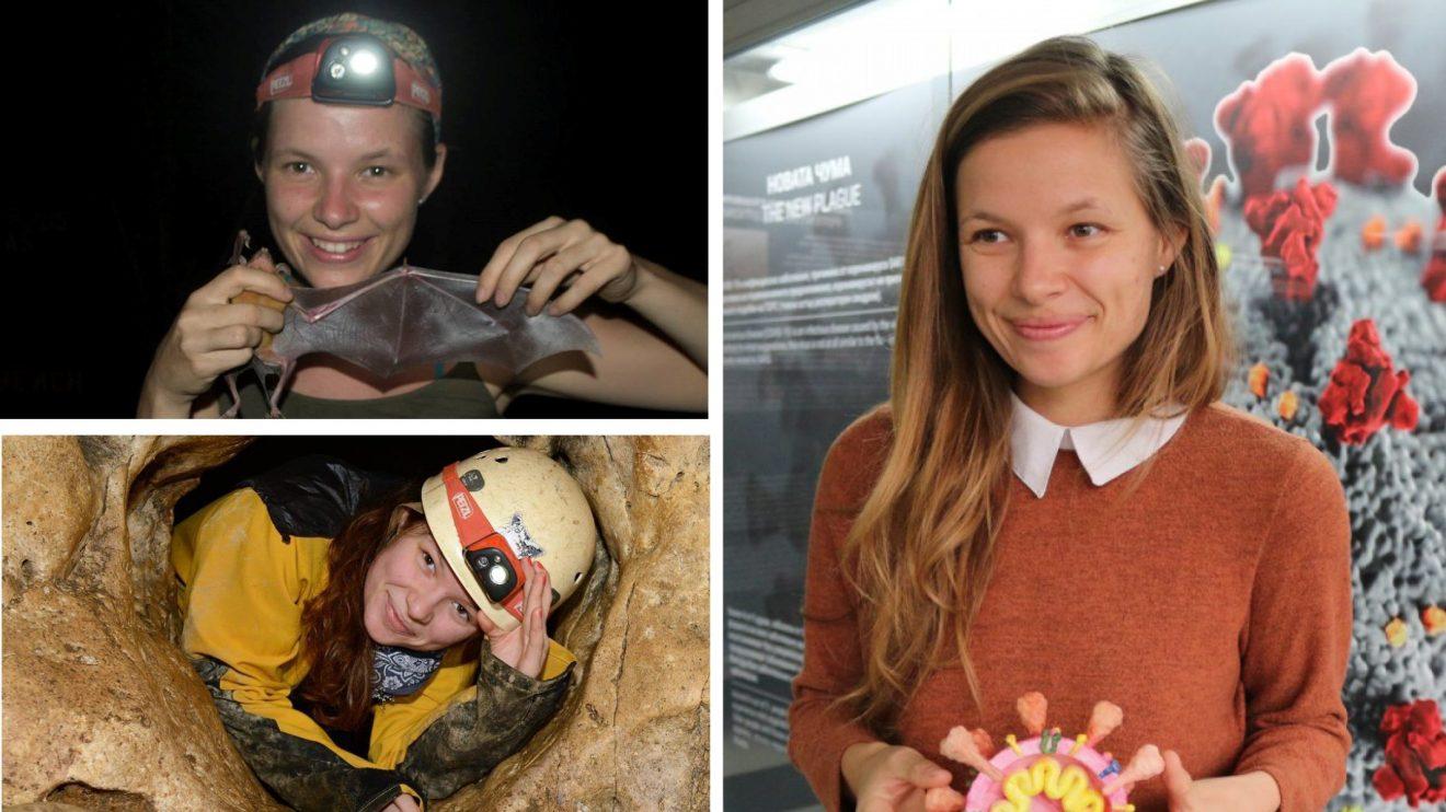 """Изследователката на прилепи Ния Тошкова спечели докторантската стипендия на фондация """"Карол Знание"""" за 2021 г."""