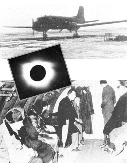 60 години от първото организирано научно наблюдение на пълно слънчево затъмнение от България (снимки)