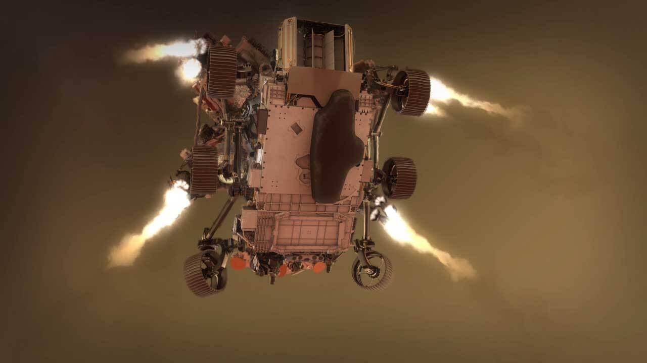 Марсоходът Perseverance: Седем минути до Марс (видео) (Астрономическа снимка на деня – APOD)