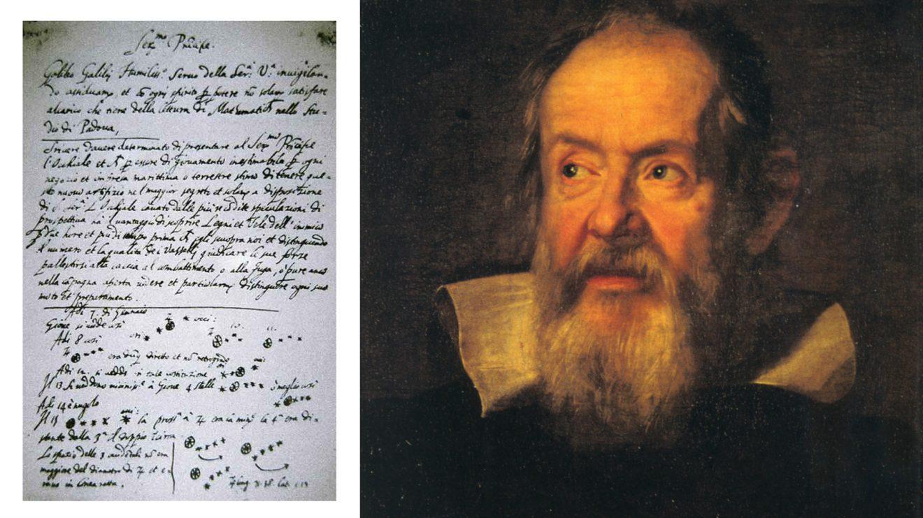 457 години от рождението на Галилео Галилей - бащата на съвременната наблюдателна астрономия