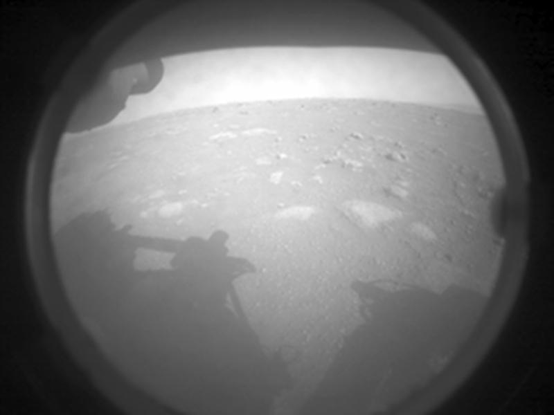 Марсоходът Perseverance - ден 0 (Астрономическа снимка на деня – APOD)