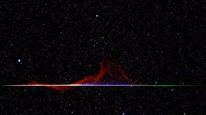 Цветен метеор Квадрантид (Астрономическа снимка на деня – APOD)