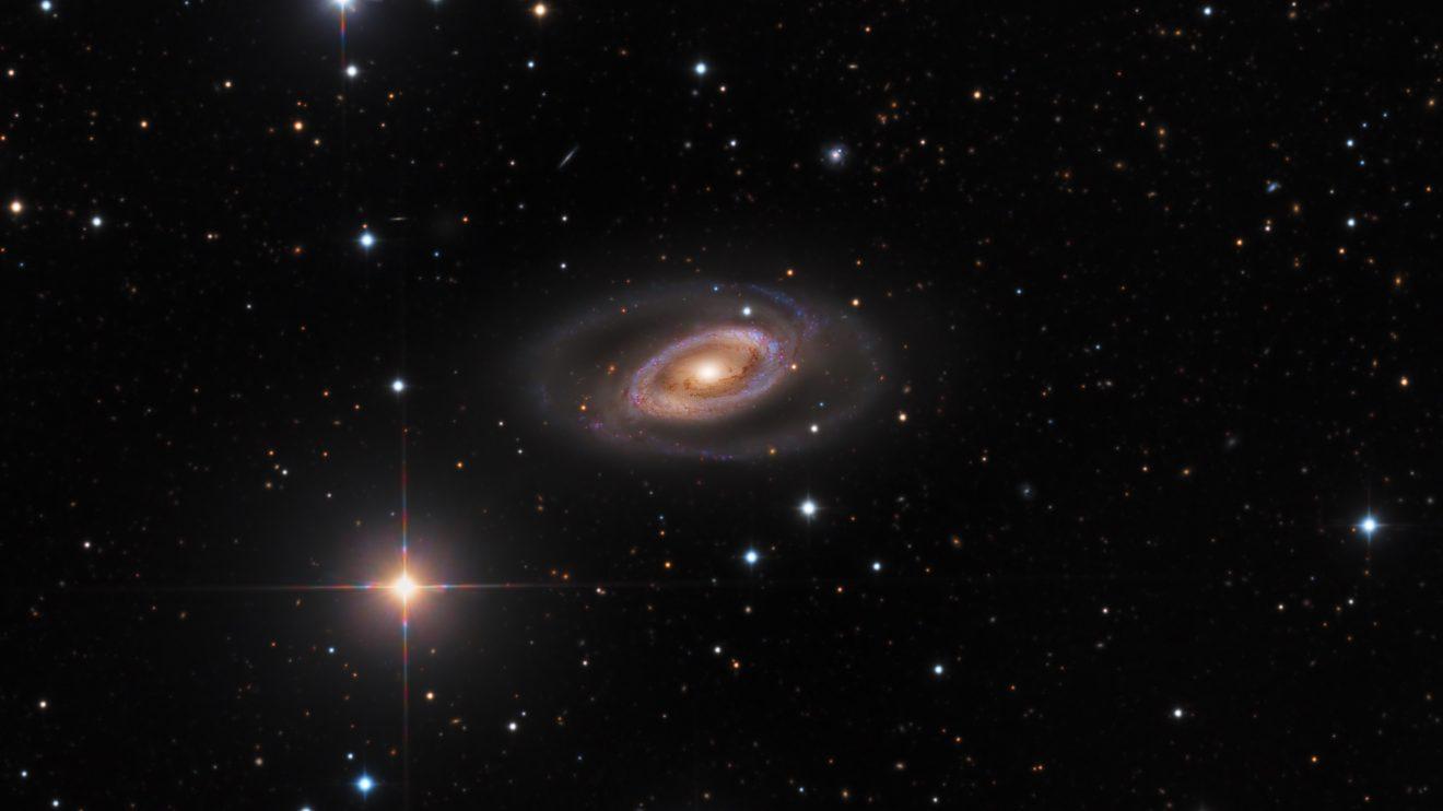 Спиралната галактика NGC 1350 (Астрономическа снимка на деня – APOD)